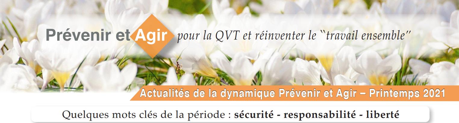 QVT Alsace Lettre infos printemps 2021